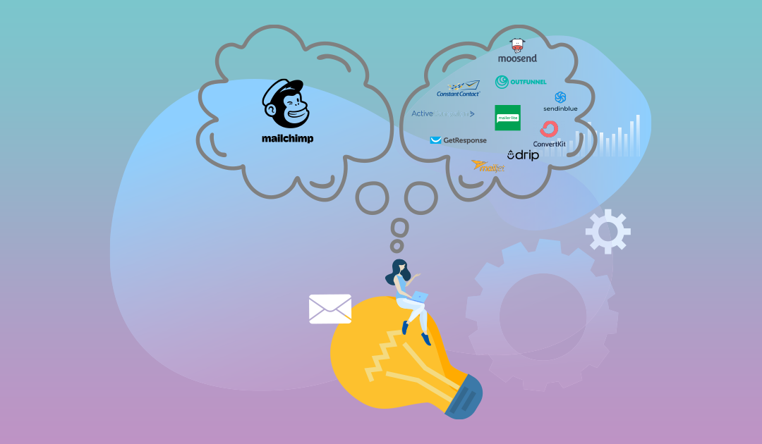 mailchimp alternatives for 2020 - outfunnel blog post image