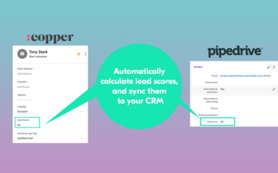 Find your hottest opportunities with our new Lead Scoring feature