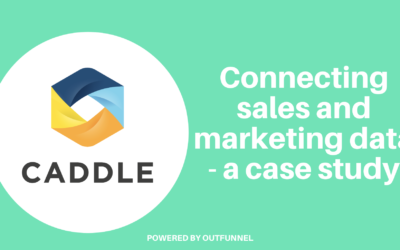 Connecting sales and marketing data: how Caddle does this with Outfunnel