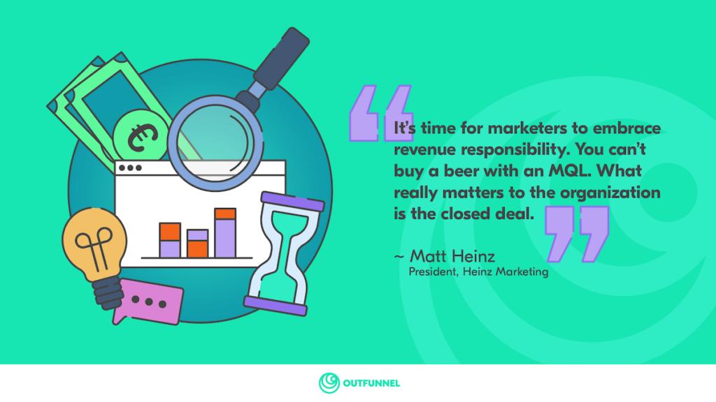 Matt Heinz revenue responsibility