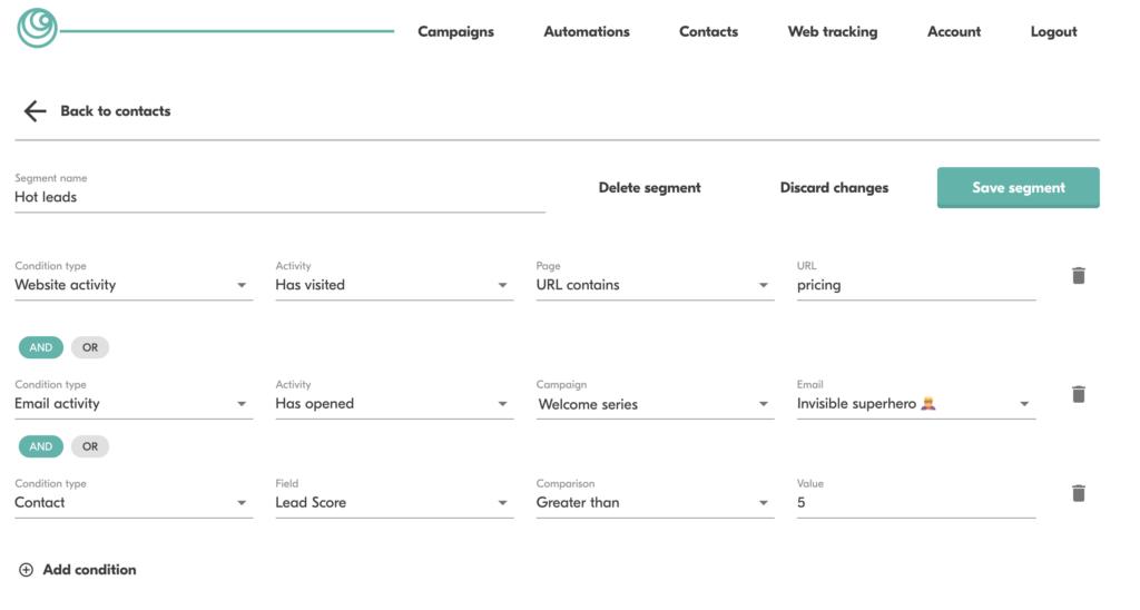email segmenting