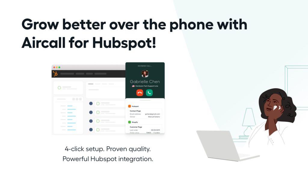aircall hubspot integration