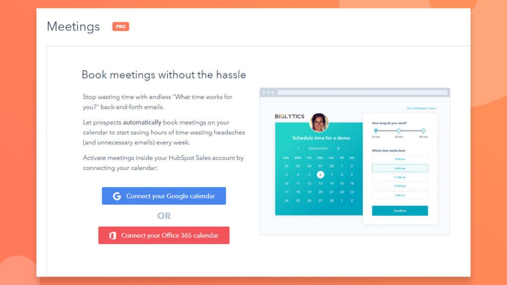google calendar hubspot integration