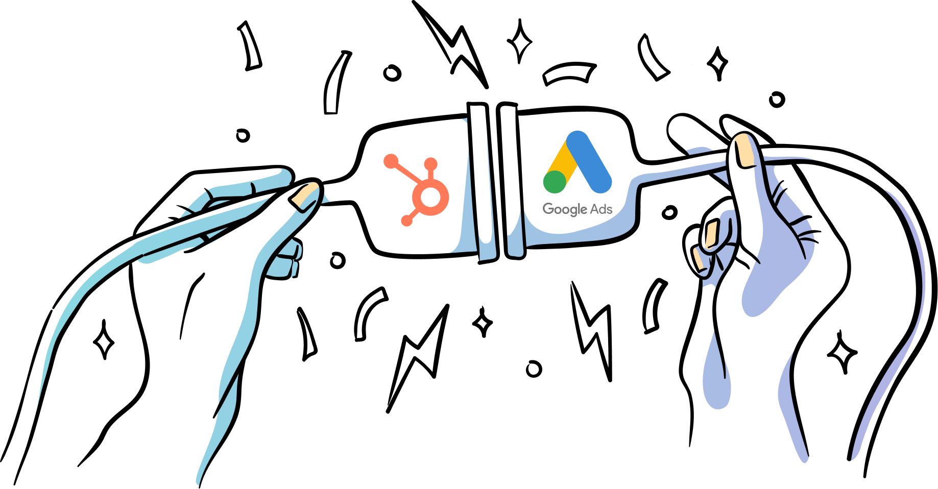 hubspot crm google ads integration