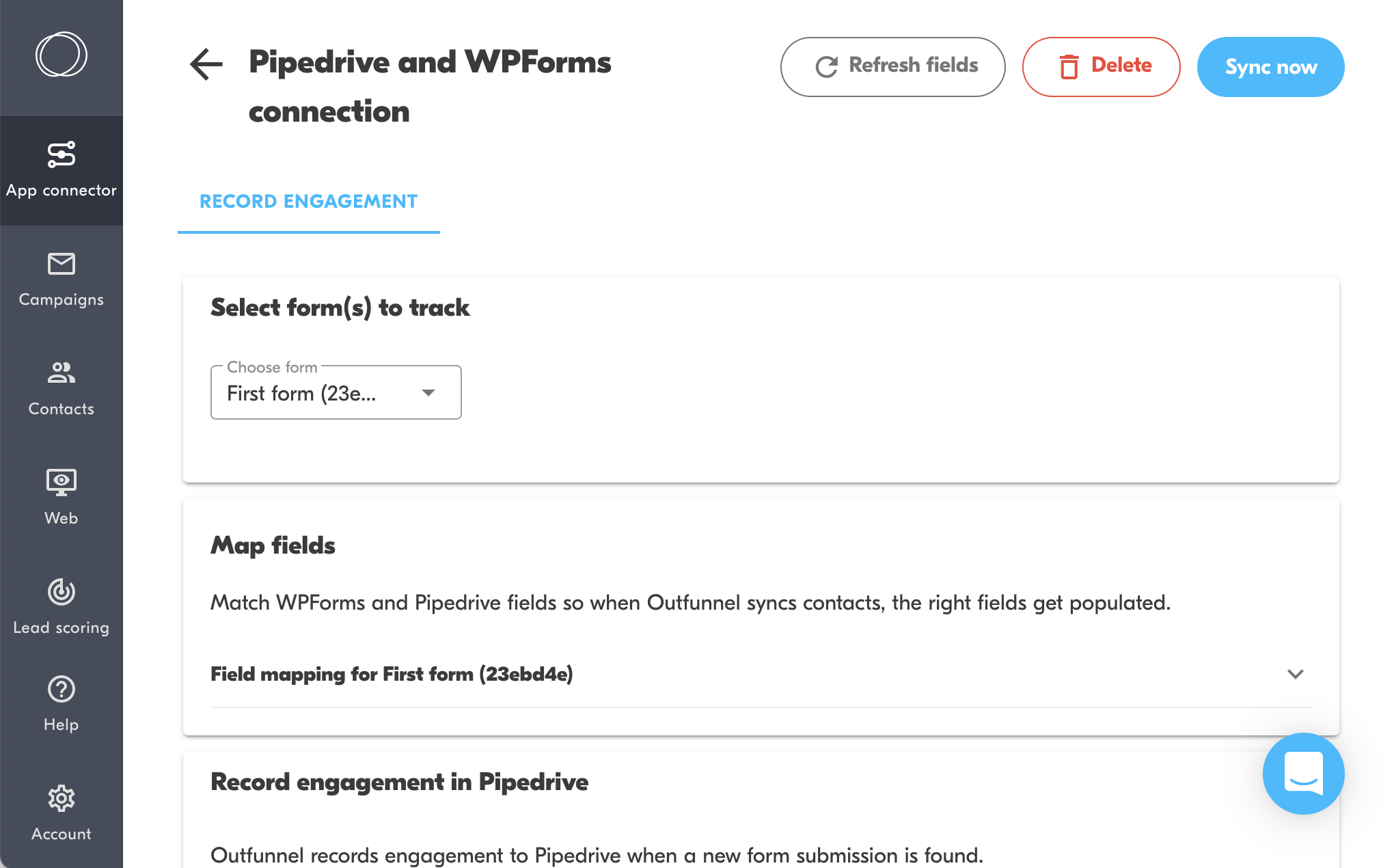 pipedrive and wpforms connection